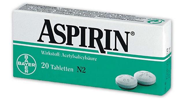 Aspirinas skystina kraują