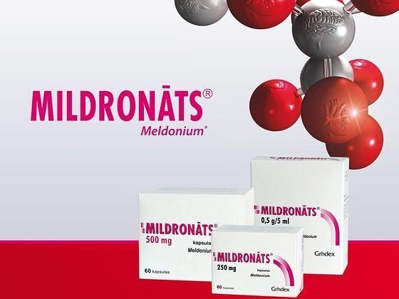 Mildronatas nuo 2016 metų pripažintas dopingu
